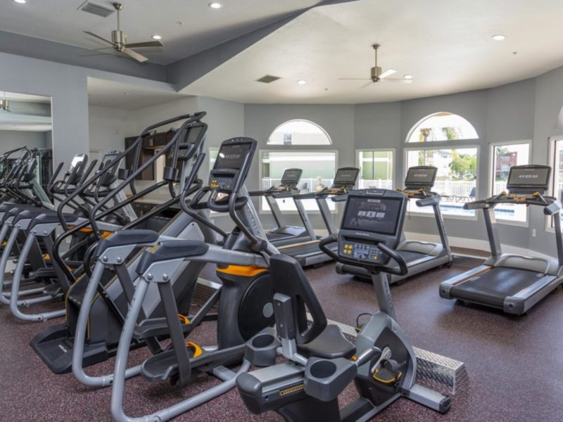 TGM University Park Apartments Fitness Gym 2