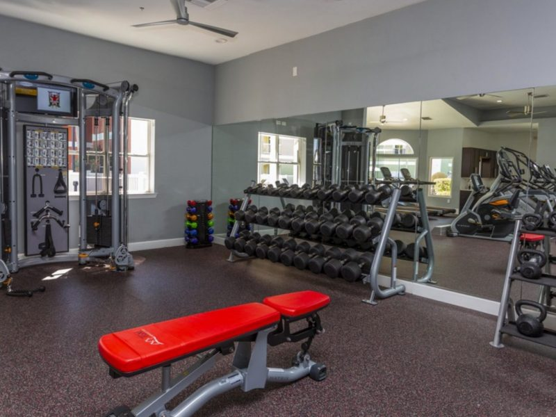 TGM University Park Apartments Fitness Gym 3