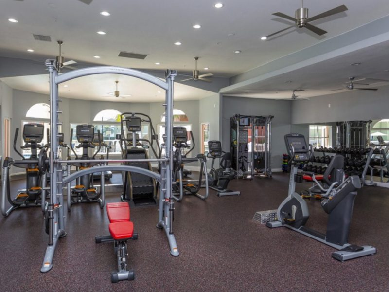 TGM University Park Apartments Fitness Gym 4