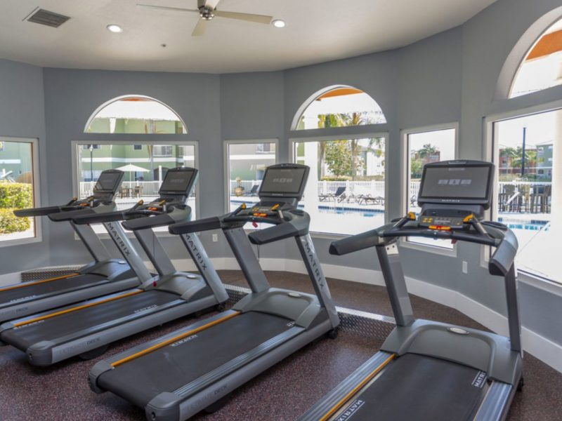 TGM University Park Apartments Fitness Gym