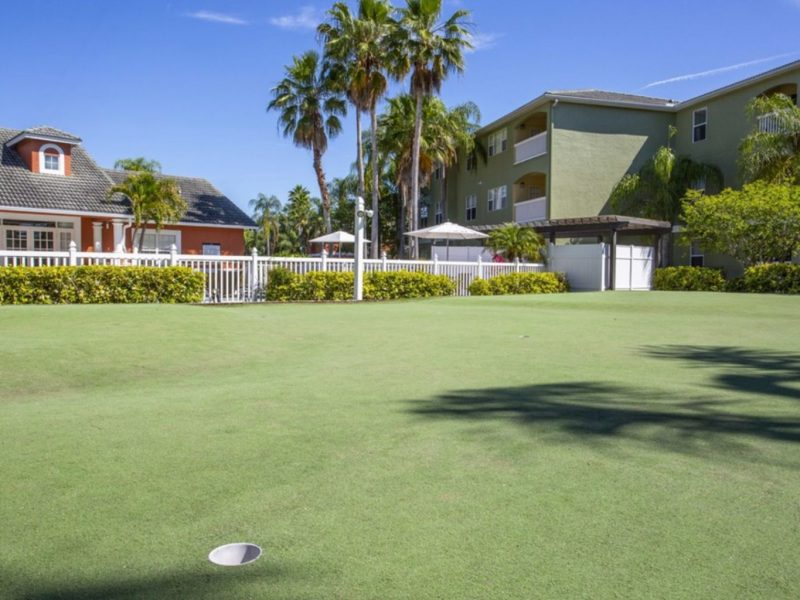 TGM University Park Apartments Putting Green