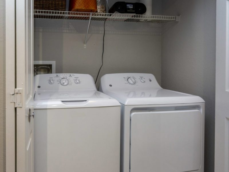 TGM University Park Apartments Washer and Dryer